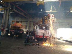 ремонт автовышки